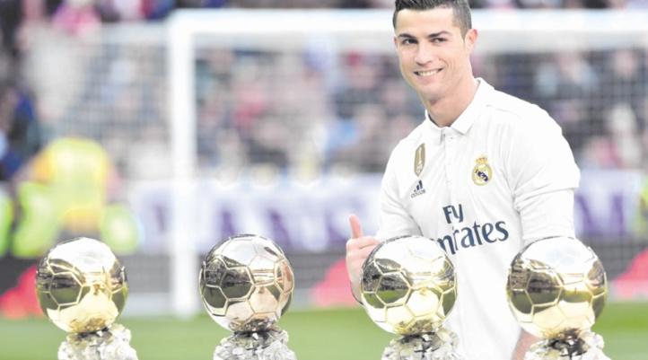 Ballon d'Or 2017 : Cristiano Ronaldo fond sur le record de Messi
