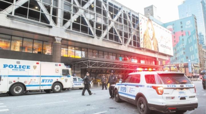 Attentat près de Times Square