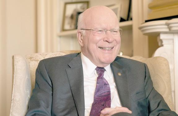 Patrick Leahy, le sénateur fan de Batman