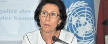 Leila Rhioui, représentante  de l'ONU-Femmes Maroc.