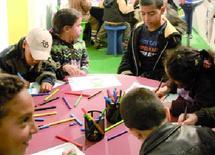 Les élèves casablancais à la découverte du monde du livre  : Ambiance écolière au SIEL