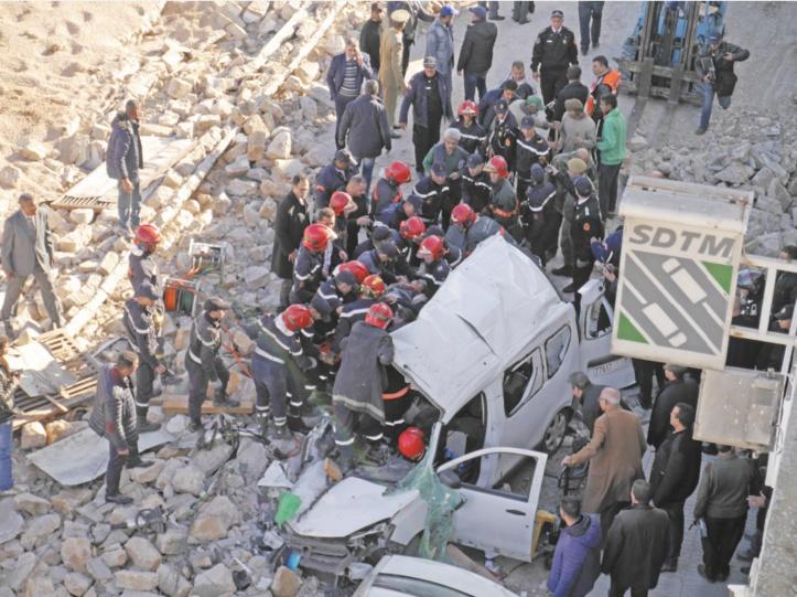 Drame au Belvédère : Deux morts et quatre blessés suite à l'effondrement d'un mur