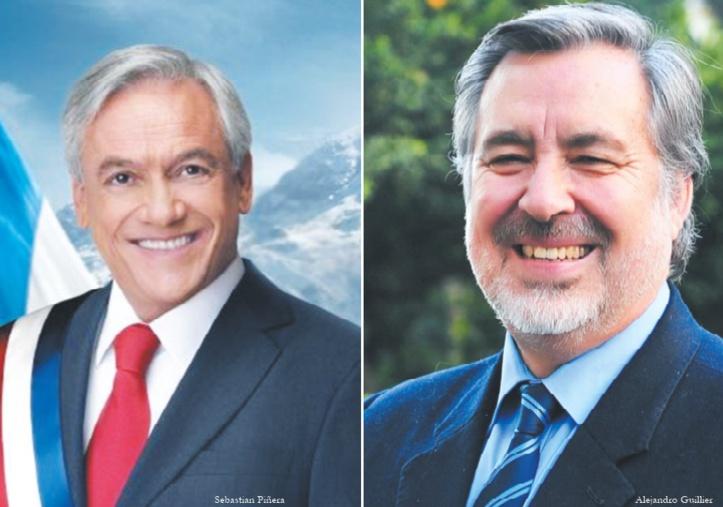 Le futur président chilien sera soit milliardaire, soit journaliste