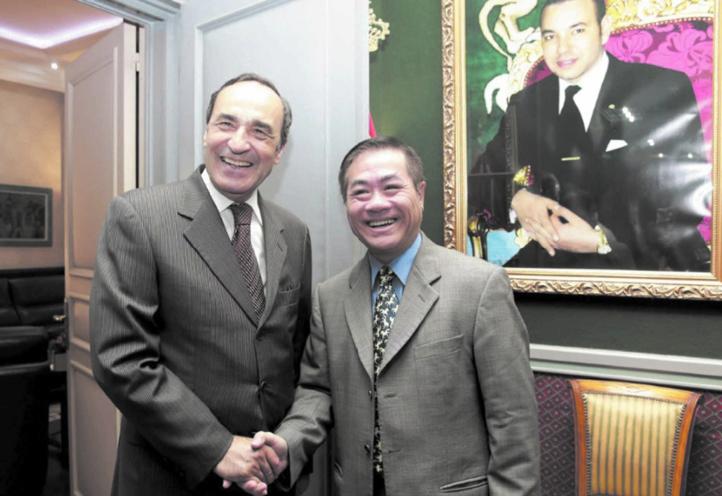 Visite de travail de  Habib El Malki au Vietnam
