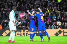 Le Barça s'offre  une marge avant  le clasico
