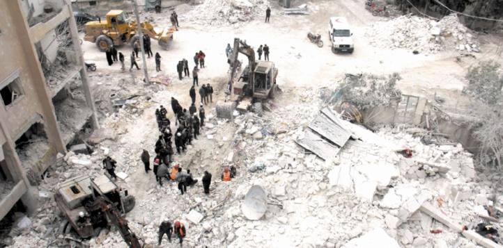 Une vingtaine de morts tués dans des raids en Syrie