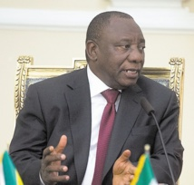 Driss Lachguar félicite le nouveau président de l'ANC
