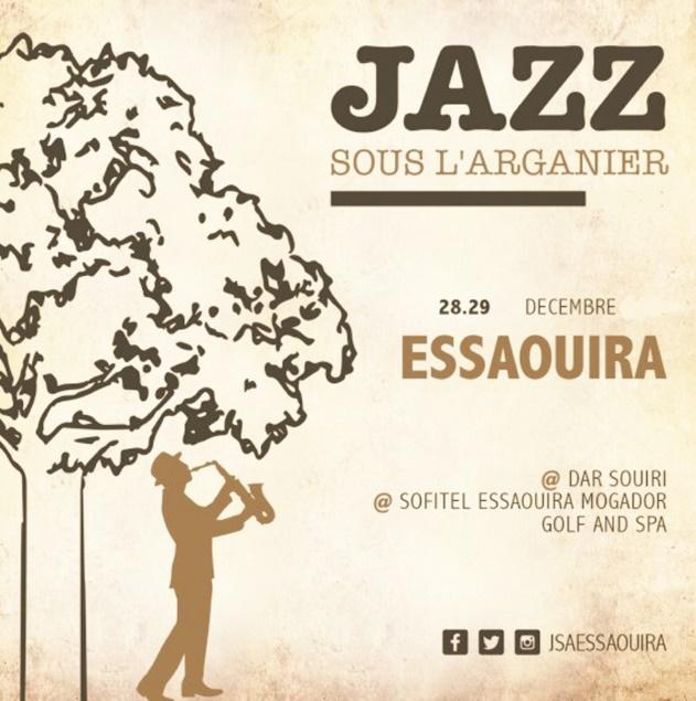 """Nouvelle édition du Festival """"Jazz sous l'arganier"""" à Essaouira"""