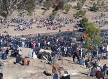Manifestations et appel à la grève générale à Jérada