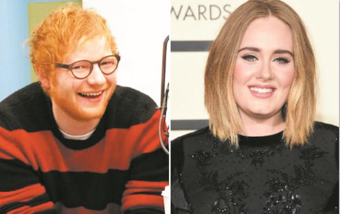 Ed Sheeran et Adèle en compétition pour chanter la B.O du prochain James Bond