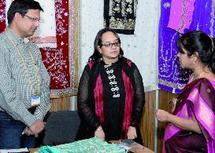 """Tombée de rideau sur le Salon du textile indien  : Le """"sari"""" à la conquête du marché marocain"""