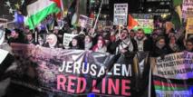 Manifestations contre la décision américaine concernant Al-Qods