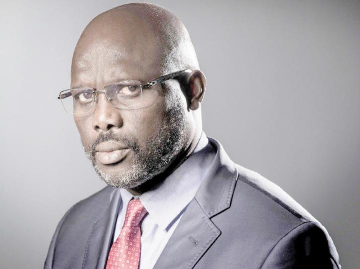George Weah, étoile africaine du foot, devient président du Liberia