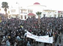 Plaidoyer des partis politiques pour Jerada