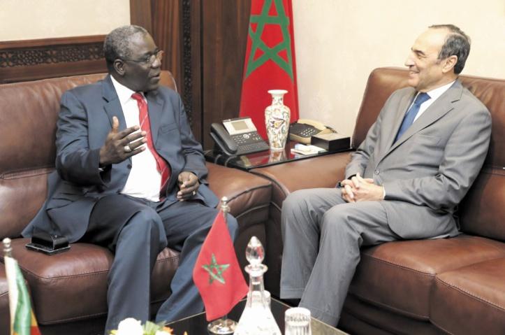 Habib El Malki s'entretient avec le ministre des Maliens de l'extérieur et de l'Intégration africaine