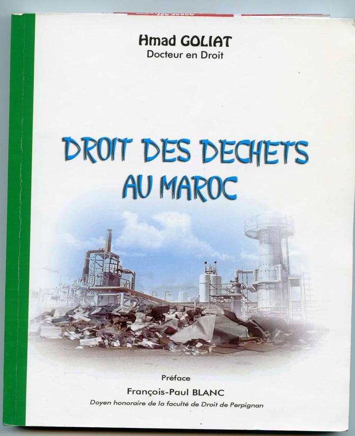 Le droit des déchets au Maroc et son analyse exposés dans un ouvrage inédit