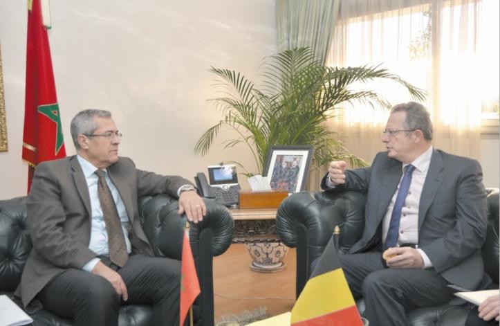 Coopération maroco-belge dans le domaine de l'administration électronique