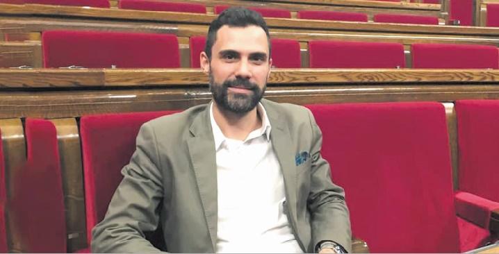 L'indépendantiste Roger Torrent élu président du parlement catalan