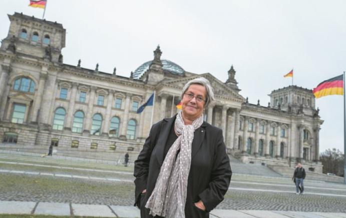 Le combat d'une femme pour les graffitis de l'Armée rouge à Berlin