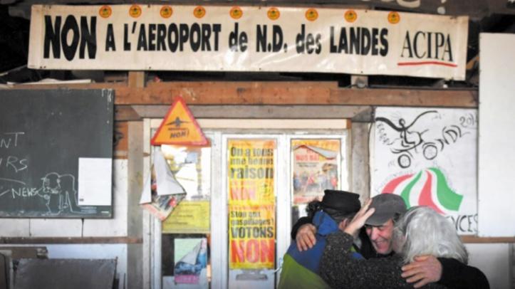 Paris abandonne le projet controversé de l'aéroport de Notre-Dame-des-Landes