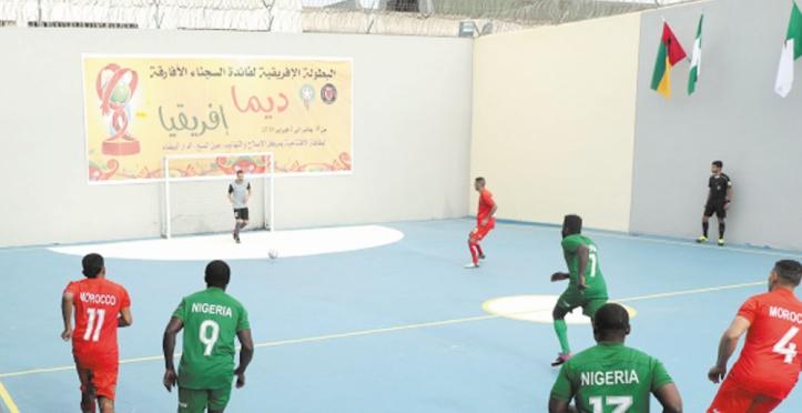 Un tournoi de mini-foot au profit de détenus de 12 pays africains