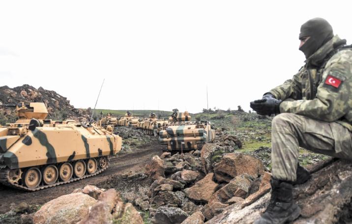 Poursuite de l'offensive turque sur Afrine en Syrie