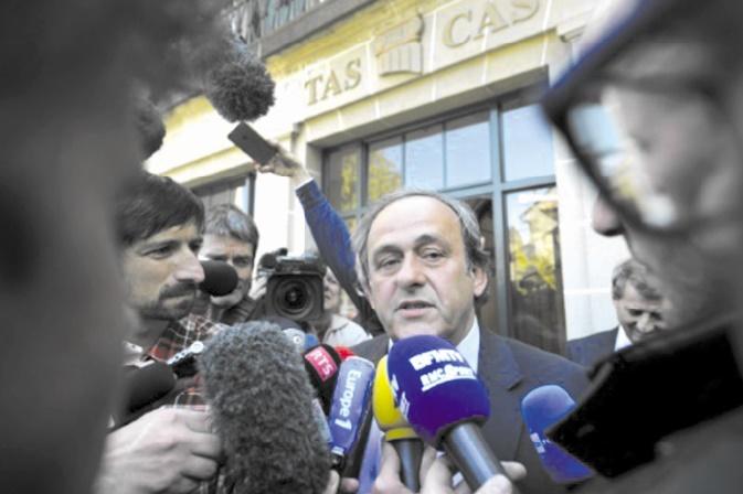 Platini conteste sa suspension devant la Cour européenne des droits de l'Homme