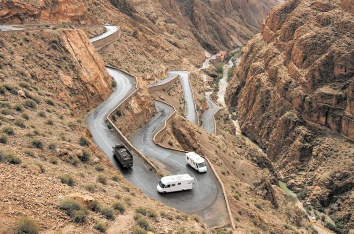 Tizi n'Tichka, la route de tous les risques Pour quand un tunnel salvateur ? Grands dangers et petits calculs