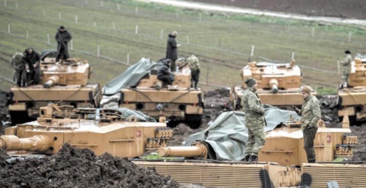 Erdogan menace d'élargir l'offensive à d'autres villes du nord de la Syrie