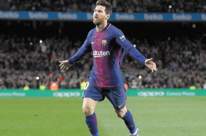 Le Barça s'en tire à bon compte grâce à Messi