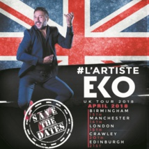 Eko bientôt en spectacle dans plusieurs villes britanniques