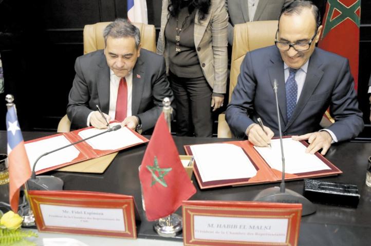 Le président de la Chambre des représentants confirme la qualité et la profondeur des relations maroco-chiliennes