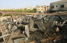 Opérations punitives israéliennes dans la bande de Gaza