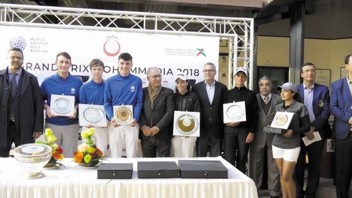 Victoire maroco-écossaise au GP de golf de Mohammedia