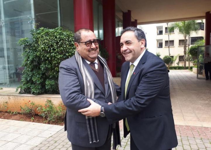 Driss Lachguar s'entretient avec une délégation parlementaire chilienne