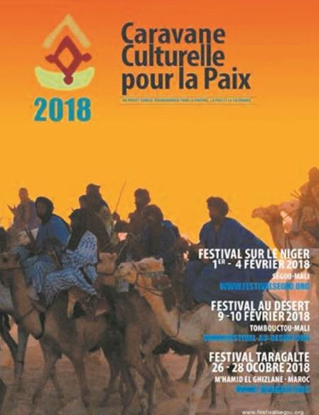 La Caravane culturelle pour la paix de M'Hamid El Ghizlane fait escale à Bamako