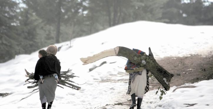 Vague de froid et importantes chutes de neige sur plusieurs régions du Royaume