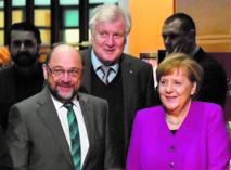 Merkel dans la dernière ligne droite pour sortir de l'imbroglio politique