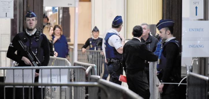 Le premier procès de Salah Abdeslam s'est ouvert à Bruxelles
