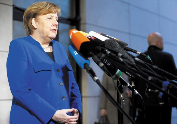 Merkel arrache un accord de gouvernement en Allemagne
