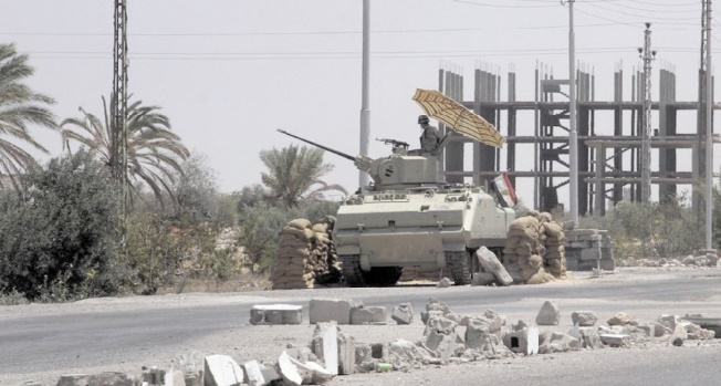 L'Egypte mène une vaste opération anti-jihadistes dans le Sinaï