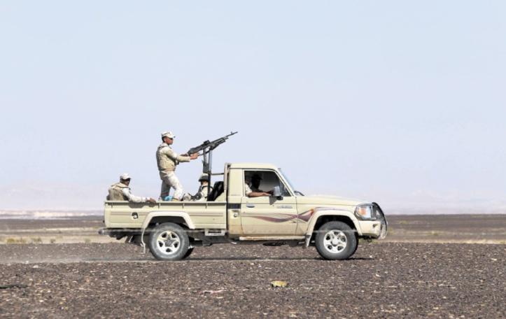L'armée égyptienne annonce avoir tué 28 islamistes dans le Sinaï