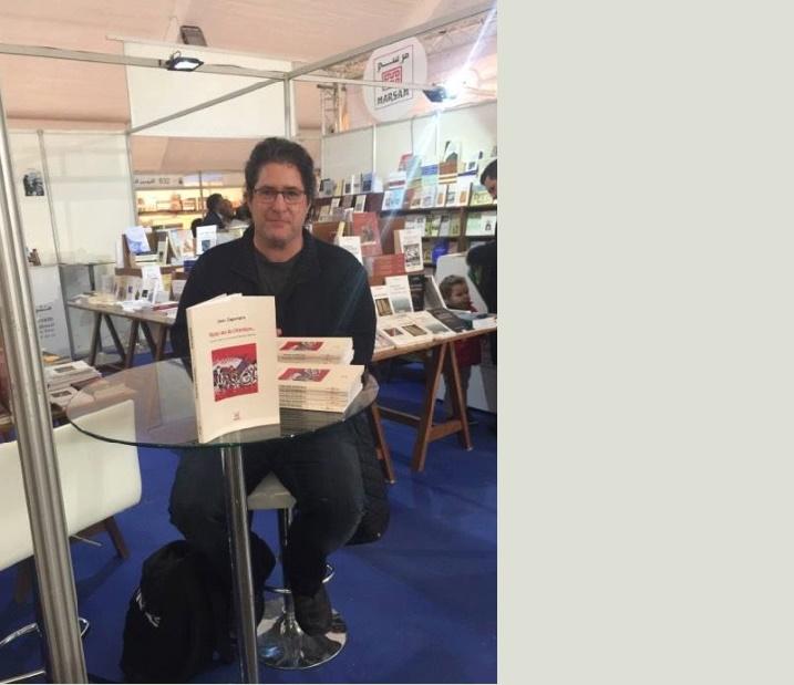 Jean Zaganiaris en dédicace au Salon du livre