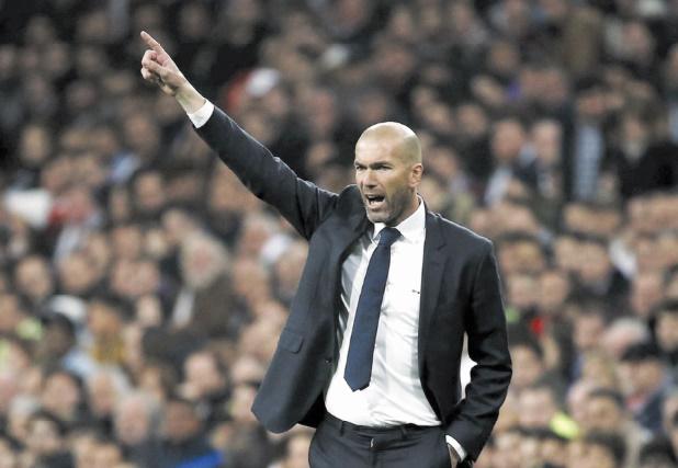 Zidane, l'Europe comme ligne de vie