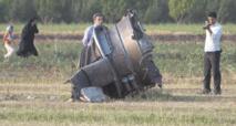 Plus de 66 morts dans  le crash d'un avion en Iran