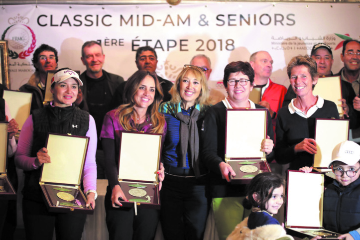 Le RGAM domine l'étape inaugurale du Classic Mid Amateur et Senior Tour