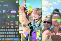 Snapchat s'inspire d'Instagram et ajoute les GIF à son application
