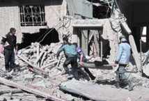 Pluie de roquettes sur la Ghouta orientale