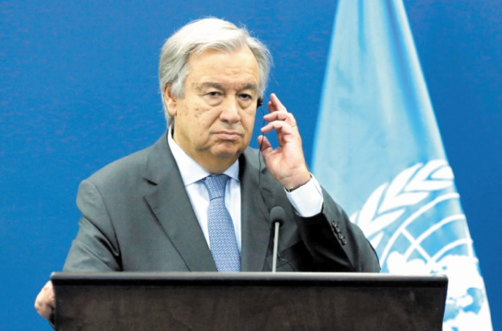 Antonio Guterres demande l'application immédiate de la trêve en Syrie