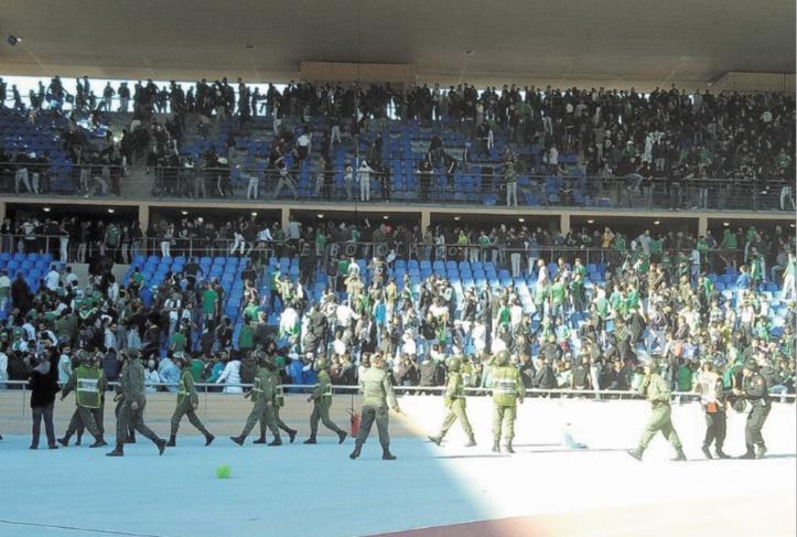 Les hooligans ont gâché la belle victoire du Raja